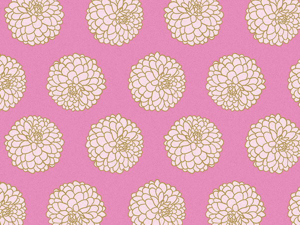 """Gilded Blooms Tissue Paper, 20x30"""", 12 Soft Fold Sheets"""