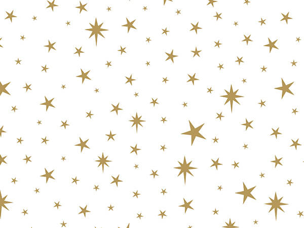 "Star Light Tissue Paper, 20x30"", Bulk 120 Sheet Pack"