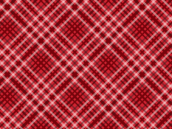 Christmas Plaid Tissue Paper