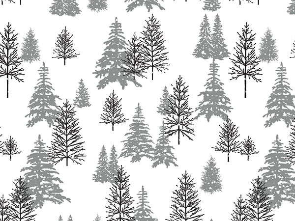 Frosted Forest Tissue Paper