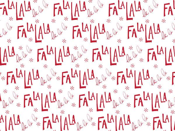 "Fa La La Tissue Paper 20x30"", Bulk 240 Sheet Pack"