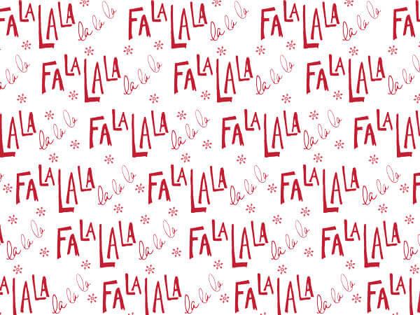 """Fa La La Tissue Paper 20x30"""", 12 Soft Fold Sheets"""