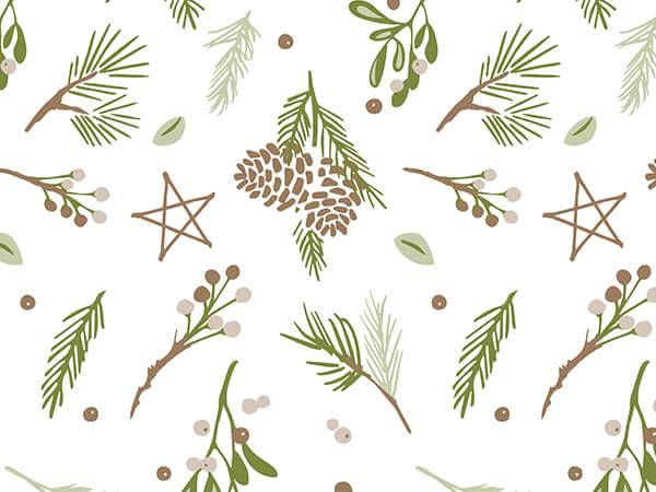Pine Hoilday Tissue Paper