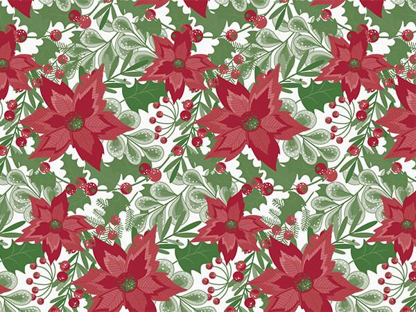 "Christmas Botanicals Tissue Paper 20x30"", 12 Soft Fold Sheets"