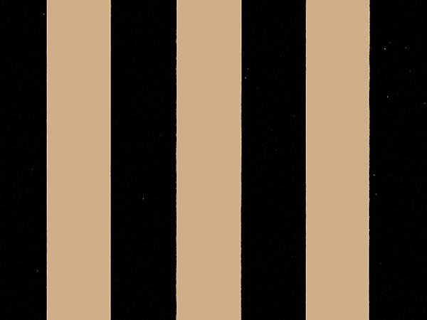 "Black Stripes Kraft Tissue Paper, 20x30"", 12 Soft Fold Sheets"