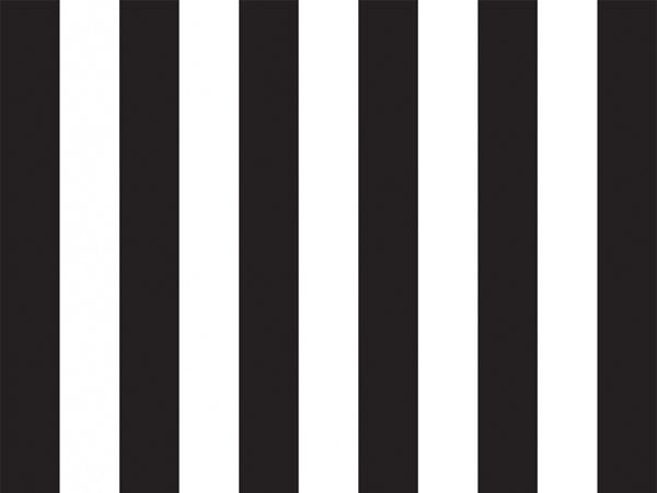 "Black Domino Alley Stripes Tissue, 20x30"", 12 Soft Fold Sheets"