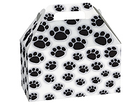 Paw Print Gable Boxes
