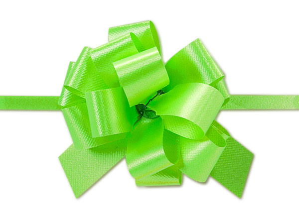 "Citrus Flora Satin 2.5"" Pull Bows 14 Loops"