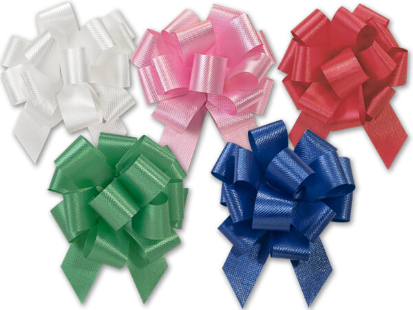"2-1/2"" Classic Pull Bows Assortment, 50 pack"