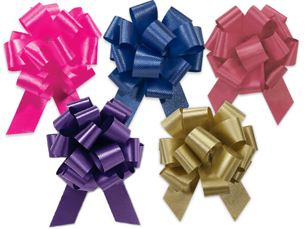 "2-1/2"" Fashion Pull Bow Assortment, 50 pack"