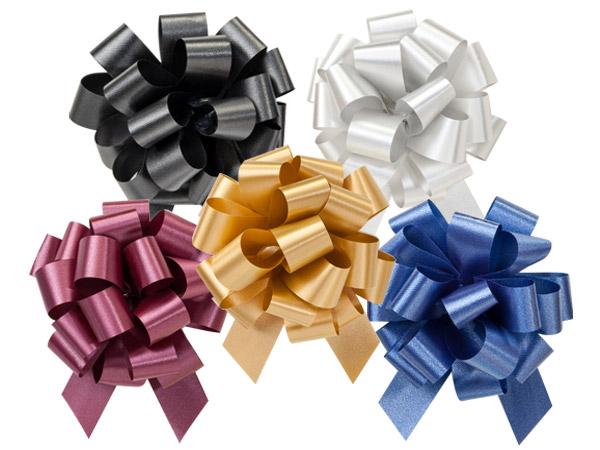 """4"""" Elegant Pull Bow Assortment, 50 pack"""