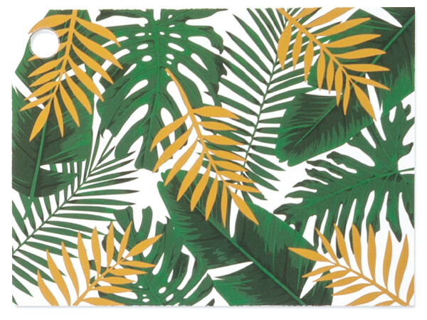 """*Palm Fronds Theme Gift Cards 3-3/4x2-3/4"""""""