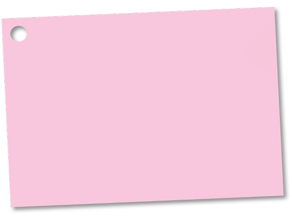"""Light Pink Theme Gift Cards 3-3/4x2-3/4"""""""