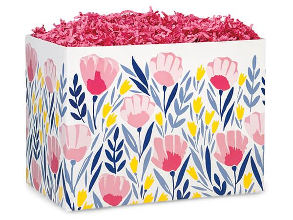 Pink Petals Basket Boxes