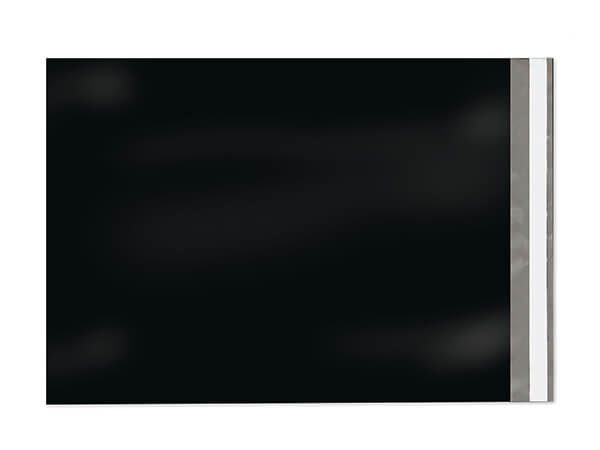 """10 x 13"""" Black Poly Peel and Seal Envelopes, 100 Pack"""