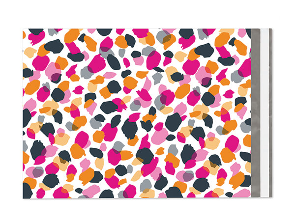 """10 x 13"""" Jungle Spots Poly Peel and Seal Envelopes, 100 Pack"""