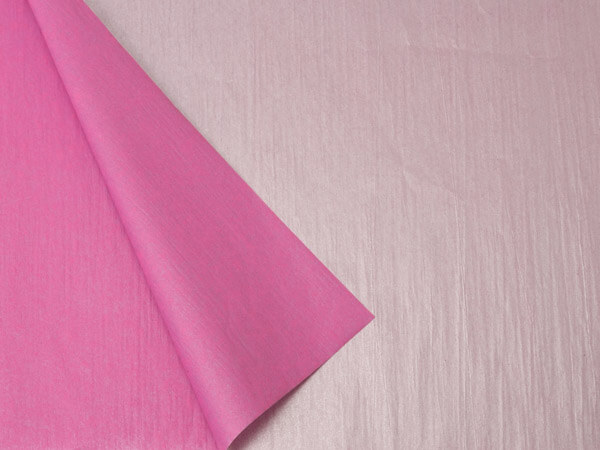 "Hot Pink & Metallic Silver Tissue, 20x30"", Bulk 100 Sheet Pack"