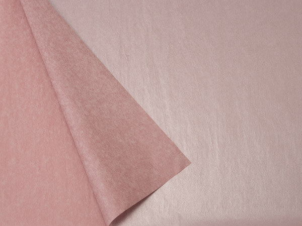 "Rose Gold & Metallic Rose Gold, 20x30"", Bulk 100 Sheet Pack"