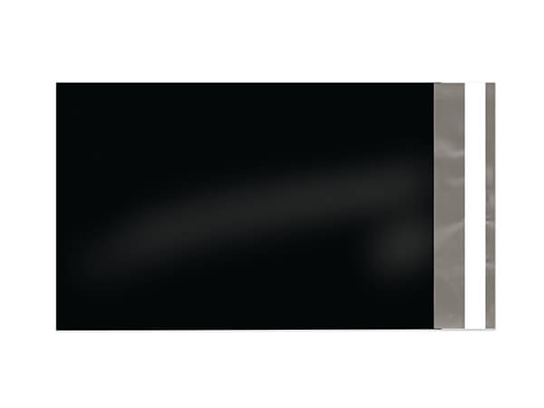 """6 x 9"""" Black Poly Peel and Seal Envelopes, 100 Pack"""