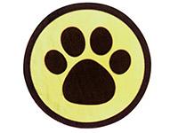 Paw Print Seals
