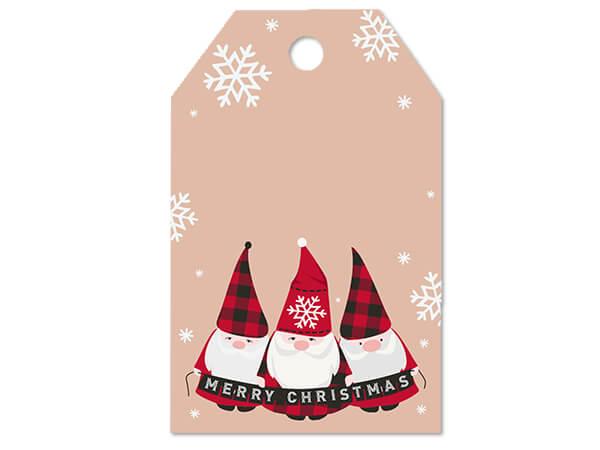 Buffalo Plaid Christmas Gift Tag