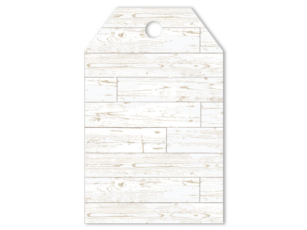 Distressed Wood Gift Tag
