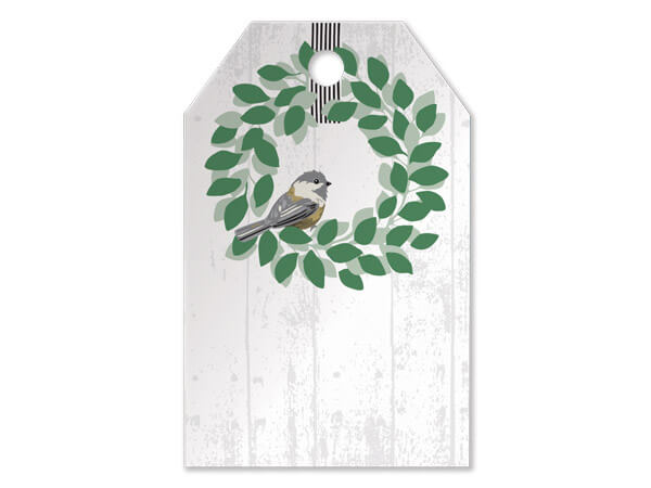 Farmhouse Birds Printed Gift Tags 2-1/4x3-1/2""