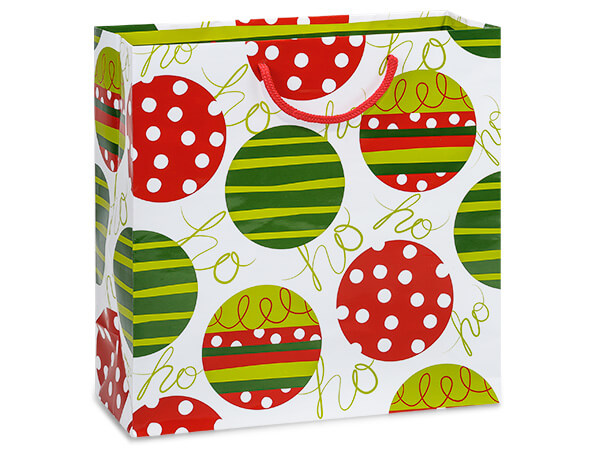 "Celebration Ornaments Gloss Gift Bags, Filly 12x5x12"", 100 Pack"