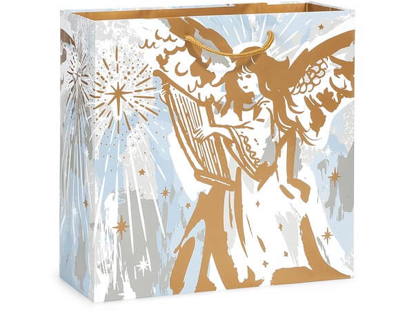 "Musical Angels Gloss Gift Bags, Filly 12x5x12"", 100 Pack"