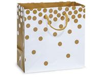 Nashville Wraps Gold Dot Gift Bags