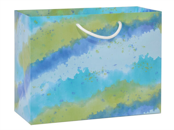 Ombre Splash Gloss Gift Bags