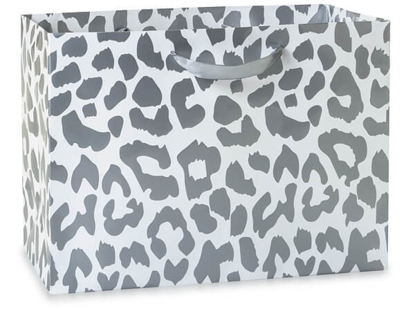 Silver Leopard Gift Bags