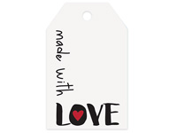 Nashville Wraps Made with Love Gift Tags