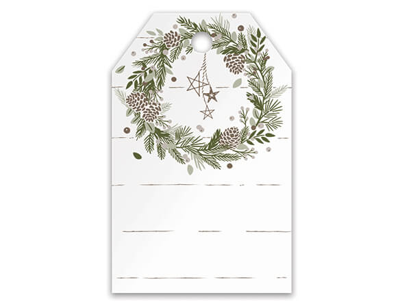 Pine Holiday Gift Tag