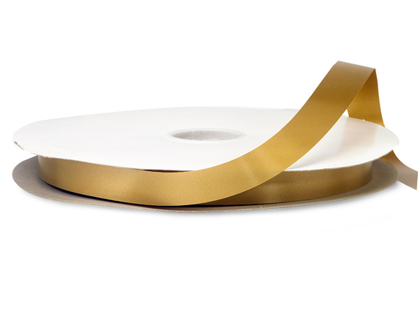 "Holiday Gold Poly Ribbon 3/4""x250 yds"