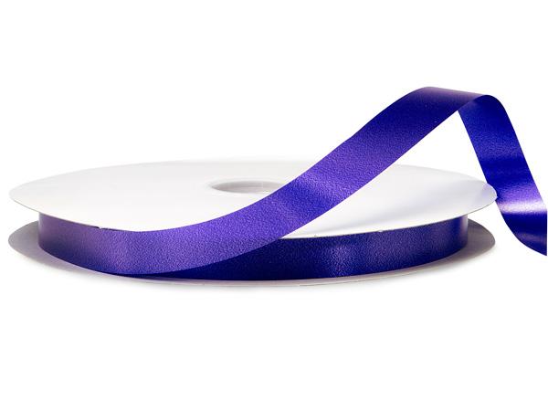 "Purple Poly Ribbon, 3/4""x250 yards"