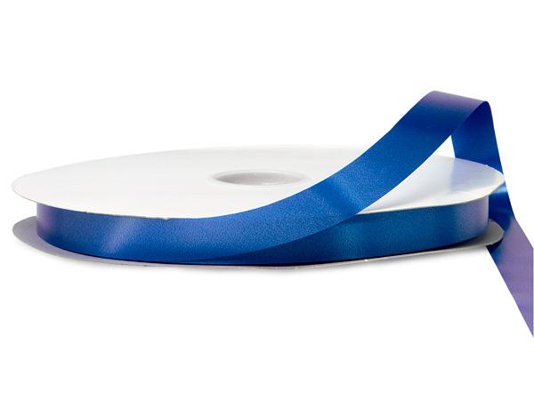 "Royal Blue Poly Ribbon, 3/4""x250 yards"