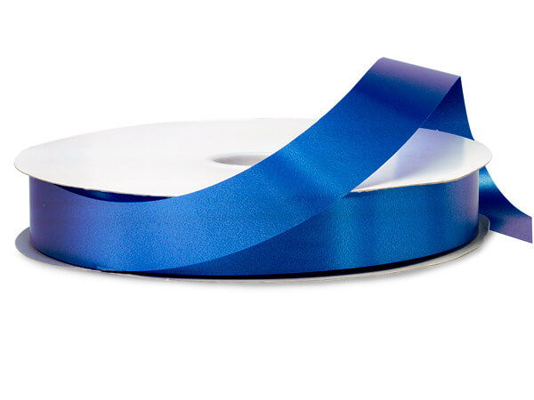 "Royal Blue Poly Ribbon, 1-1/4""x250 yards"