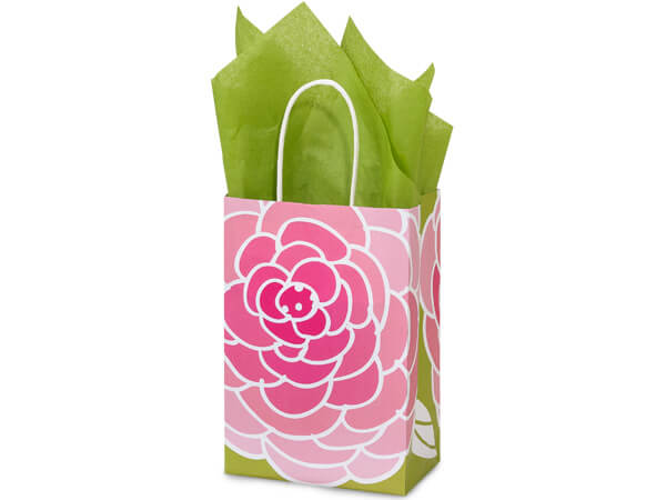 """Rose Blossoms Paper Bags 250 5-1/2x3-1/4x8-3/8"""""""