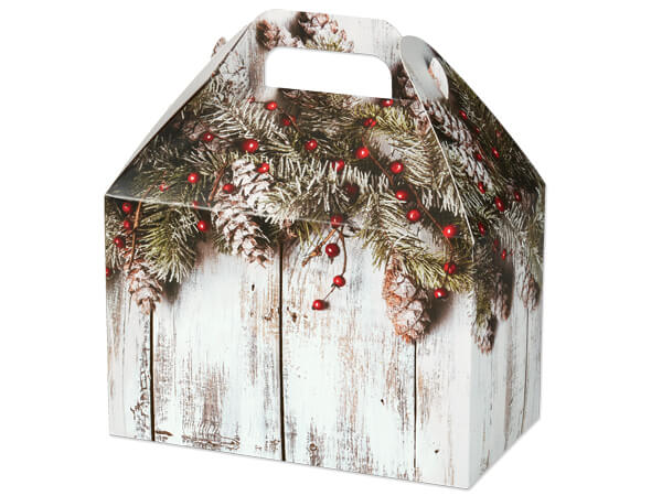 Rustic Berries Gable Boxes 8-1/2 x 4-3/4 x 5-1/2""