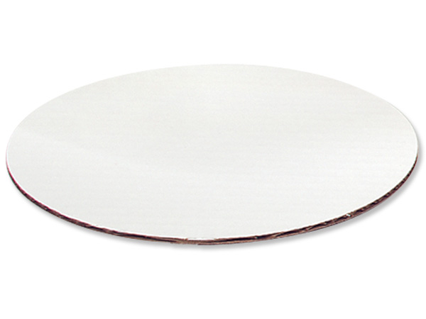 "*12""  White Round Cake Boards, Clay Coated, 100 Pack"