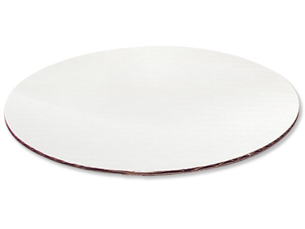 """*12"""" White Round Cake Boards, Clay Coated, 10 Pack"""
