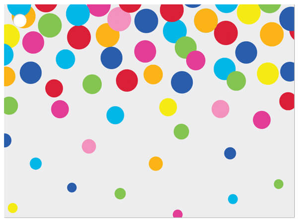 Rainbow Confetti Gift Card
