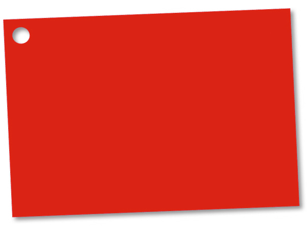"""Solid Red Theme Gift Cards 3-3/4x2-3/4"""""""