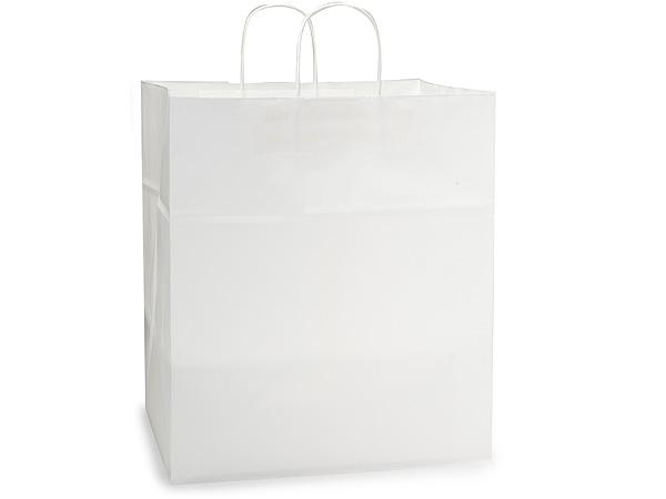 """Regal White Kraft Paper Bags 200 Pk 14x10x15.5"""""""