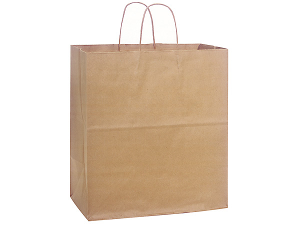 Regal 100% Recycled Paper Bags 25 Pk 14-1/2x9x16-1/4""