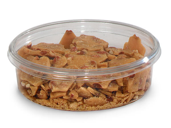 """32 oz Round Plastic Food Containers 6-3/4"""" Dia.x2"""" Deep"""