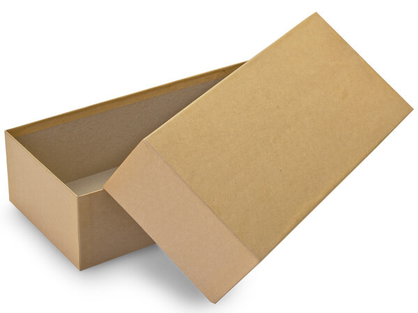 "Brown Kraft Mailing Boxes, 12x5.25x3"", 30 Pack"