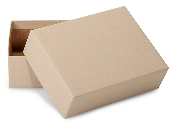"""Brown Kraft Mailing Boxes, 6 x 4.5 x 2"""", 50 Pack"""