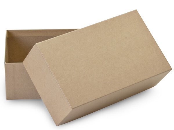"""Brown Kraft Mailing Boxes, 7x4x2.5"""", 50 Pack"""